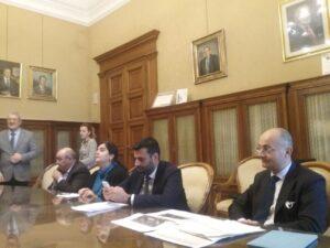 Conferenza stampa del sindaco Antonio Decaro e degli assessori Carla Tedesco e Giuseppe Galasso