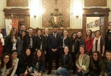 Decaro Con Studenti Intercultura E