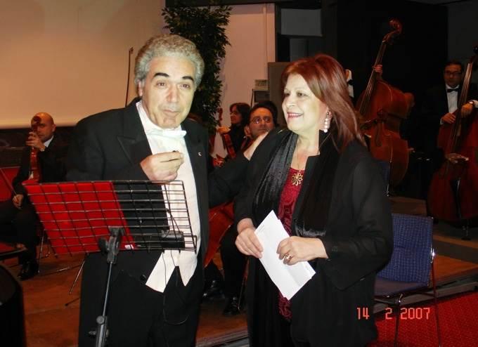 Angela Montemurro Direttrice Artistica della Associazione EurOrchestra da camera di Bari
