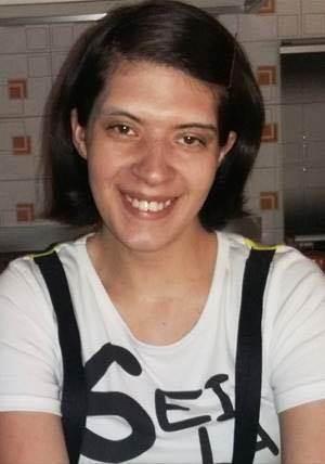 Una foto della ragazza scomparsa