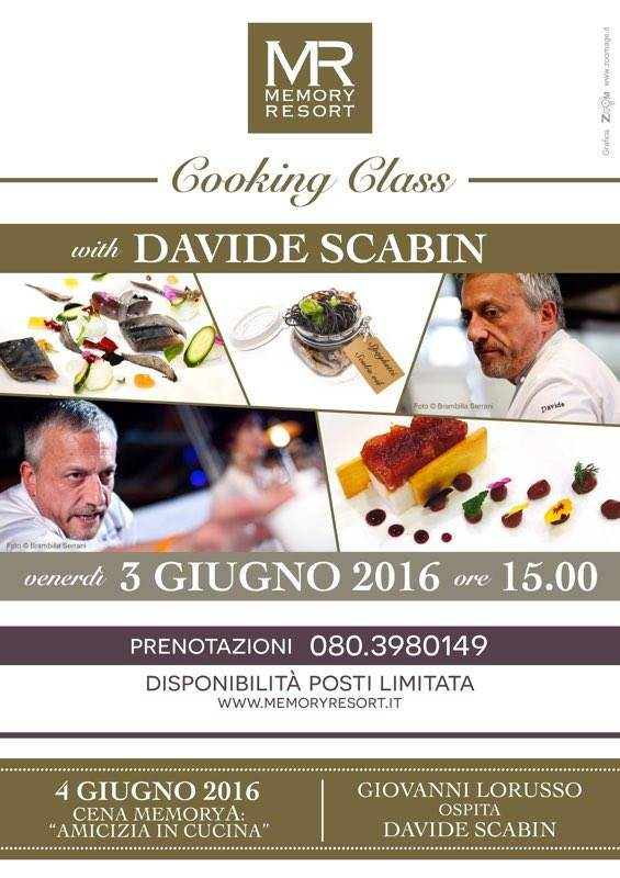 Davide Scabin, Special Guest Al Memory Resort