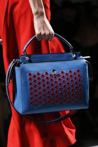 Fendi Bluered Dot Com Bag Spring