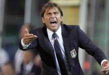 Il ct dell'Italia Antonio Conte