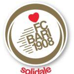 Il logo della Fc Bari solidale