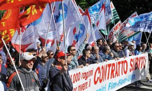 I metalmeccanici ancora in sciopero per il contratto. Venerdì manifestazione a Genova