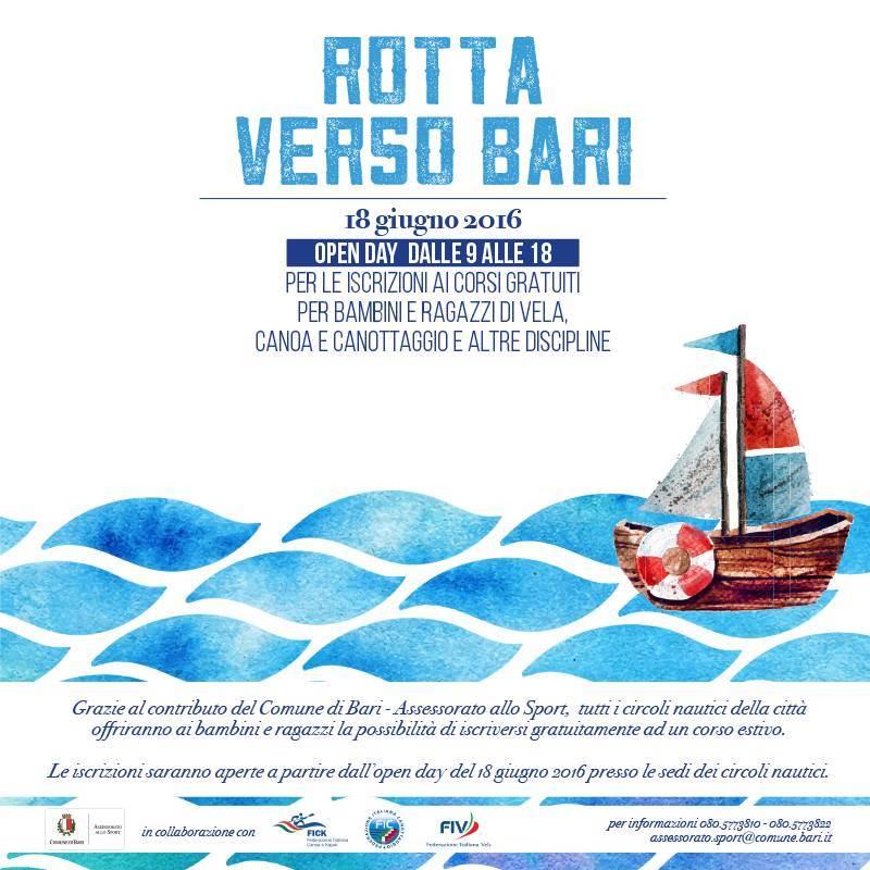 Rotta Verso Bari Locandina