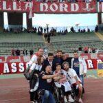Valeria, la 21enne paraplegica, allo stadio San Nicola con Bari Solidale