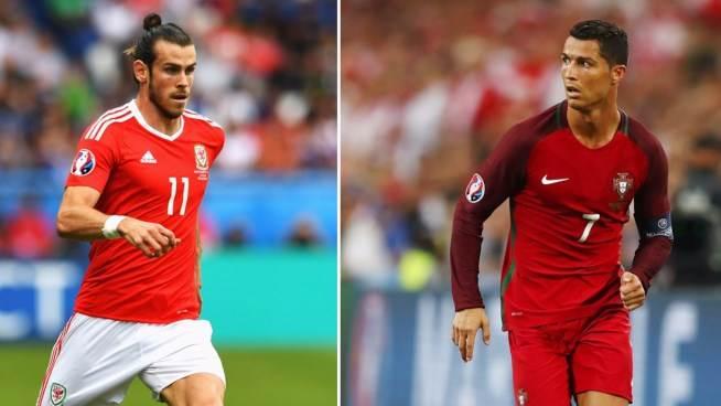 Gareth Bale e Cristiano Ronaldo