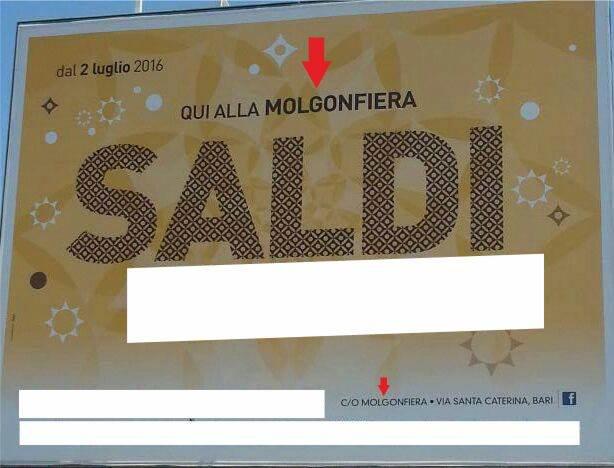 Saldi Molgonfiera