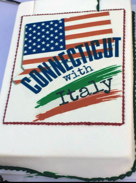 Torta Connecticut With Italy