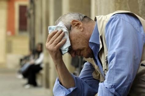 Gli anziani soffrono maggiormente il caldo