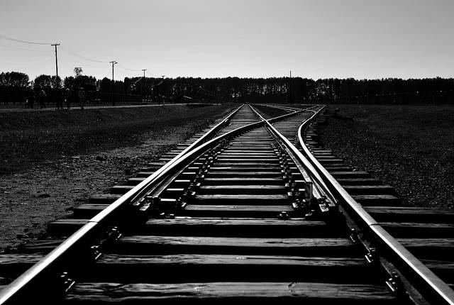 Binari Treno Ferrovia Scelta