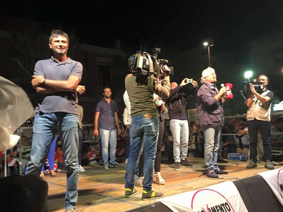 Di Battista a Giulianova per il No al Referendum