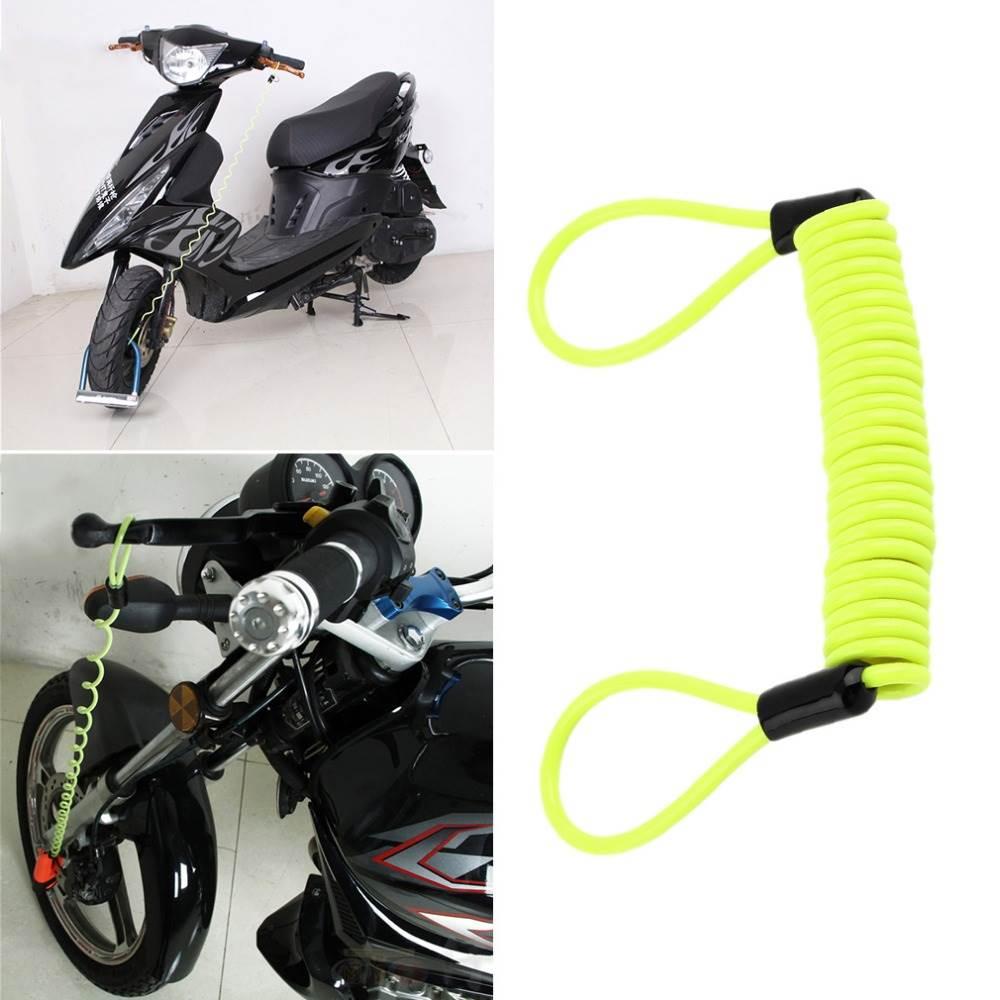 Cm Green Security Anti Font B Thief B Font Motorbike Motorcycle Wheel Disc Brake Alarm Lock