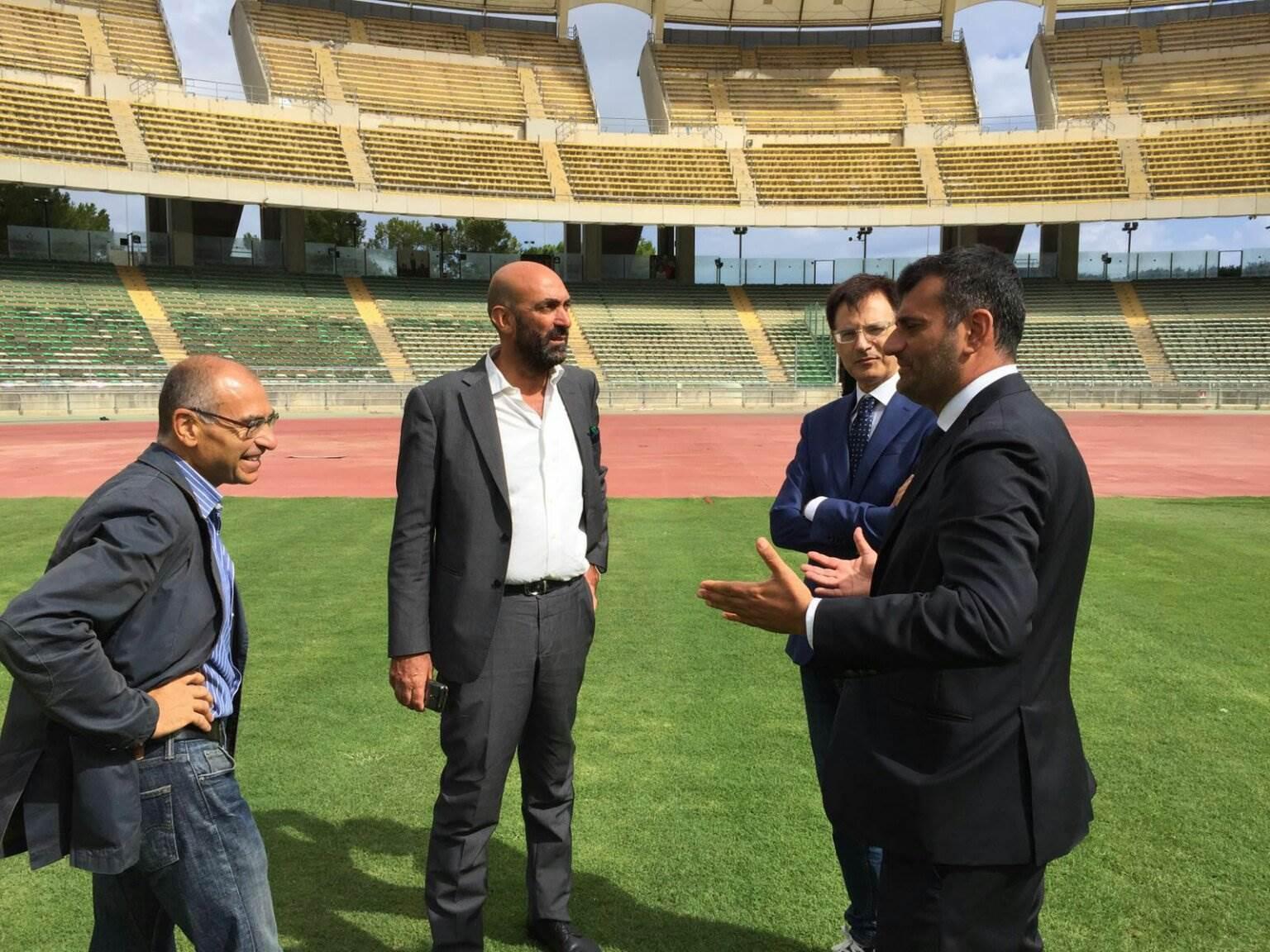 Ventura a Bari per la presentazione della gara Italia-Francia