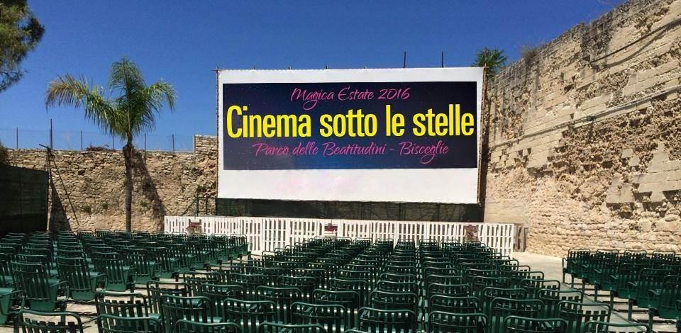 Foto Schermo Cinema Sotto Le Stelle