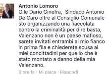 Post Facebook Valenzano