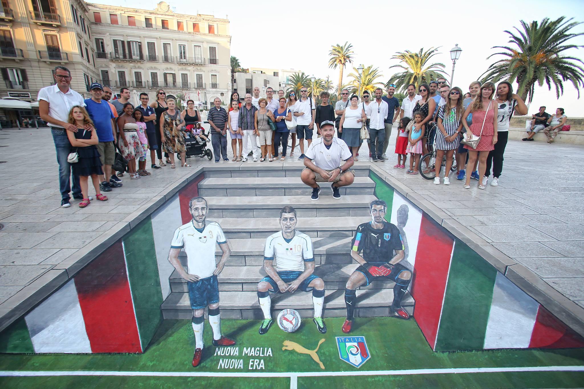 Nazionale, presentata da Figc e Puma la nuova maglia da trasferta