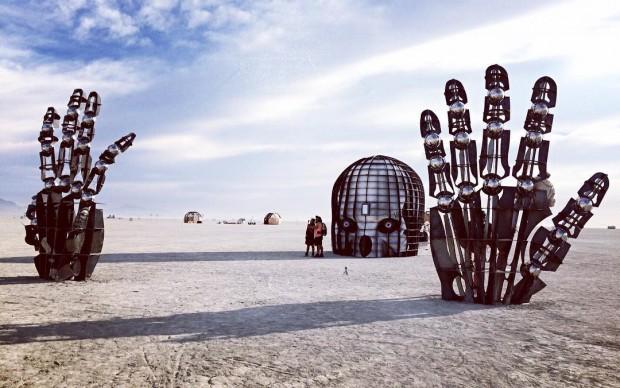 Burning Man , Fonte Instagram, Photo By Ceci Lia W