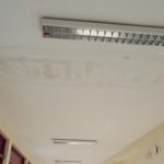 Macchie sui soffitti causate dalle infiltrazioni