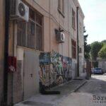 L'edificio chiuso che ospitava l'aula magna del Romanazzi
