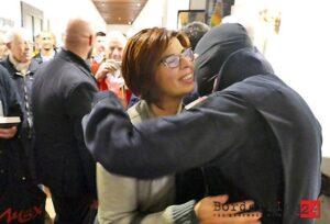 Il Comandante Alfa Dei Ros Incontra Patrizia Tacchella Vent'ann