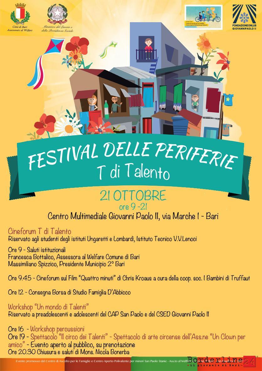 Festival Delle Periferie Locandina