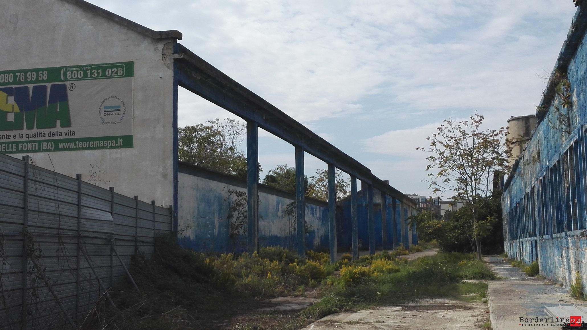 Bari, finalmente iniziano i lavori per la bonifica definitiva dell'area ex Fibronit