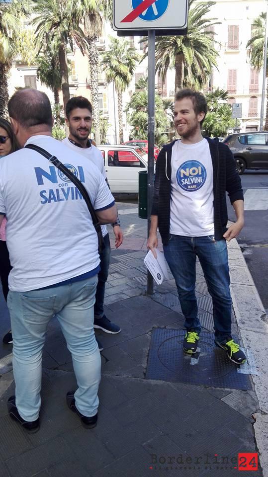 Volantinaggio Noi Con Salvini