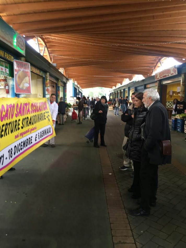 Palone Mercato Santa Scolastica