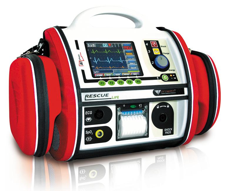 Progetti Rescue Life Defibrillator