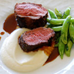 Sumac Crusted Lamb Loin With Cauliflower Puree Recipe Homemedium