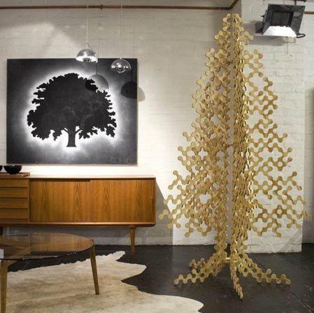 Eco Plywood Christmas Tree By Buro North