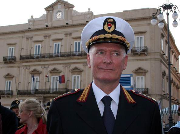 Nicola Marzulli Comandante Vigili Urbani