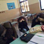 In classe con il giubbotto al Romanazzi