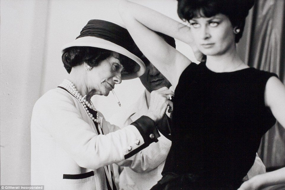 A A Never Before Seen Image Of Coco Chanel Hard At Work In Her Des M