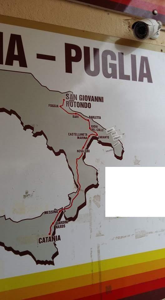 Cartina Puglia Noci.La Cartina Geografica Da Zero In Pagella Si Trova In Sicilia Bari E Disegnata A Nord Di Barletta