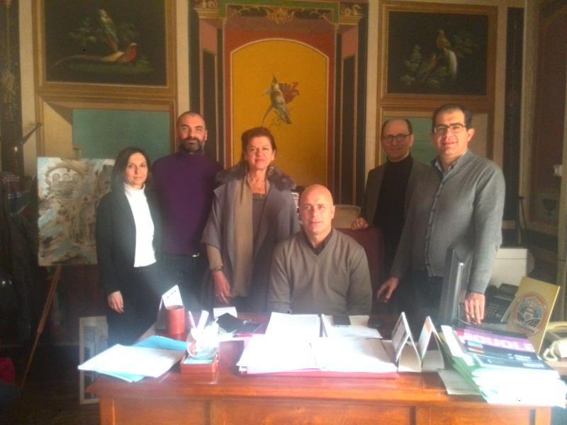 I nuovi assessori di Casamassima con il sindaco Vito Cessa