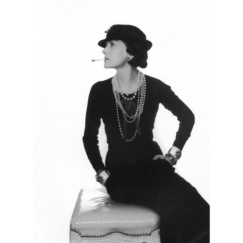 Gabrielle Chanel by Man Ray, 1937