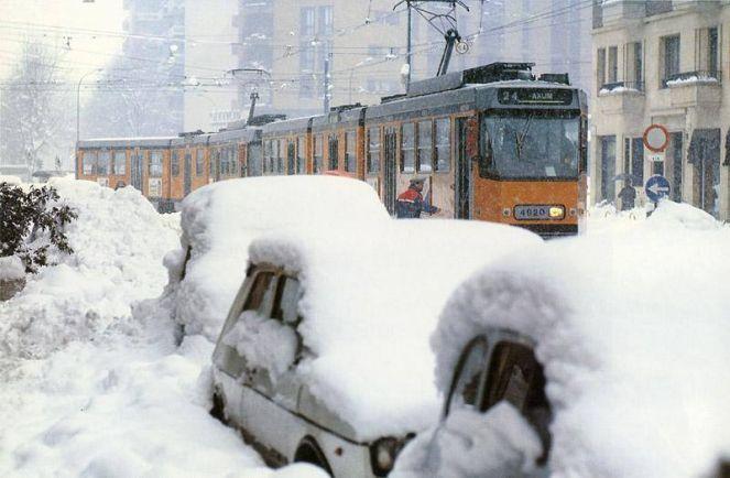 La Nevicata Storica Di Milano Bmeteo