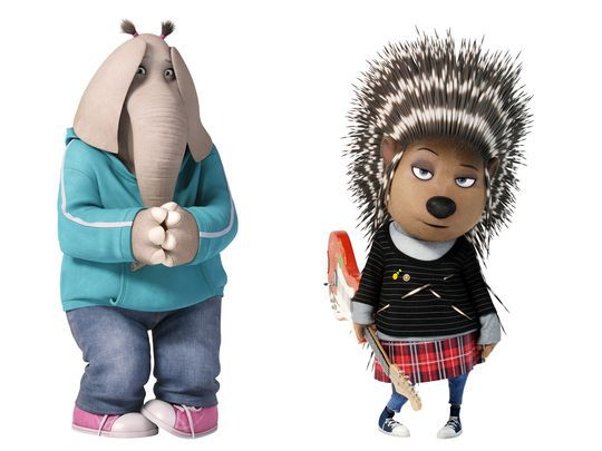 Sing Movie Elephant And Porcupine