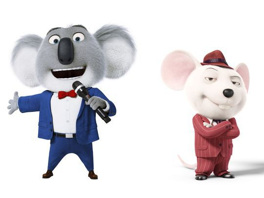 Sing Movie Koala And Mouse