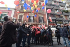 La manifestazione della Cgil a Bari