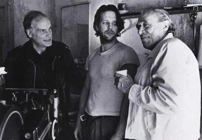 Bukowski sul set di Barfly
