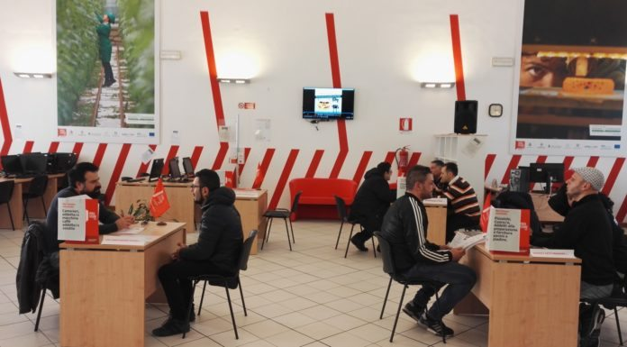 I colloqui da cinque minuti al job center Porta futuro