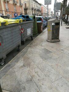 corso Vittorio Emanuele rifiuti