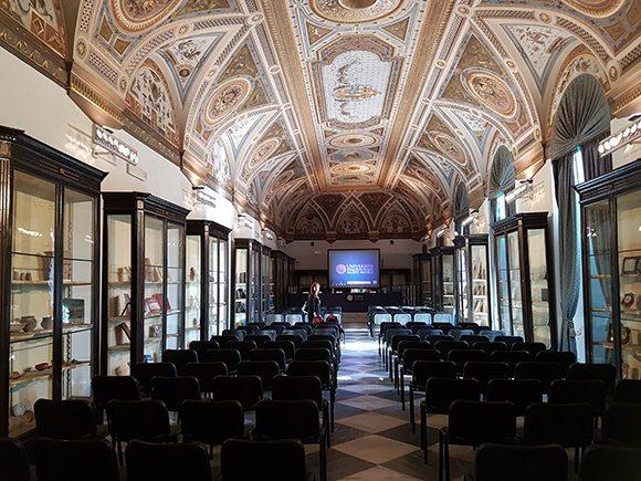 salone affreschi ateneo Bari