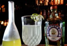 Gimlet: Plymouth Gin Navy e Cordial Lime - Photo: Luca Desiderato