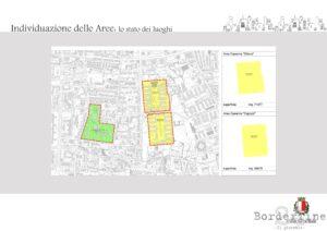 Polo della giustizia - Individuazione delle aree stato dei luoghi (1)