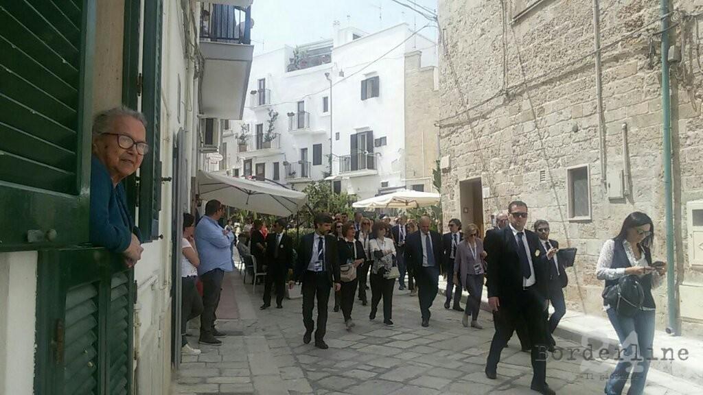 Conversano e Polignano accolgono le signore del G7: dalle ciliegie ...